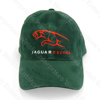 5b291ac4b60 Jaguar Racing Hat - Green Jaguar Parts and Accessories from Welsh  Enterprises