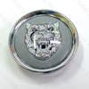 Jaguar Wheel Motif - Gray with Silver Catface