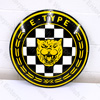 Jaguar Enamel E-Type Sign - 20""