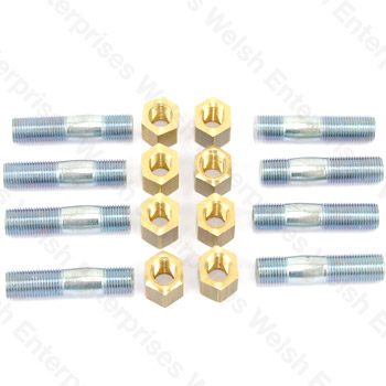 Jaguar Stud And Nut Kit For Manifold To Pipe
