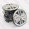 Jaguar Union Jack Wheel Badge Set