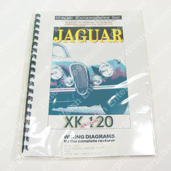 Wiring Diagram - XK120 on