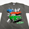 "Jaguar ""XK120 - E-TYPE - MK2"" Short Sleeve T-Shirt - Double Extra-Large"