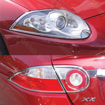 Jaguar XK Chrome Headlight / Taillight Trim