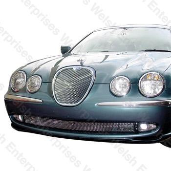 Jaguar S-Type Mesh Grille Kit - (2000-2004)