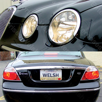 Jaguar Chrome Light Trim Kit