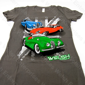 Jaguar XK120 - E-Type - MK2 T-Shirt - Women