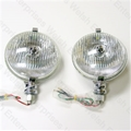 "Jaguar 5 3/4"" Driving Light Pair - Fluted"