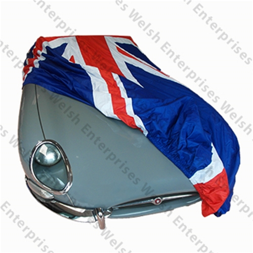 Jaguar Union Jack Outdoor Car Cover - Medium With Free Shipping