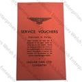 Jaguar Dealer Service Voucher