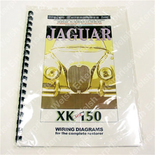 Xk150 Wiring Diagram | Wiring Diagram on