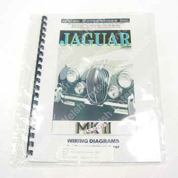 jaguar wiring diagram - mk ii jaguar parts and accessories from welsh  enterprises