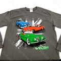 "Jaguar ""XK120 - E-TYPE - MK2"" Long Sleeve T-Shirt - Medium"