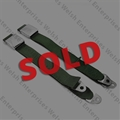 Jaguar Seat Belt GREEN Pair - NOS - SOLD
