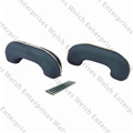 Jaguar Arm Rest Pair  - Light Blue