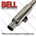 Jaguar Bell  Exhaust Stainless Steel Kit