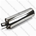 Jaguar Rear Muffler -Stainless Steel
