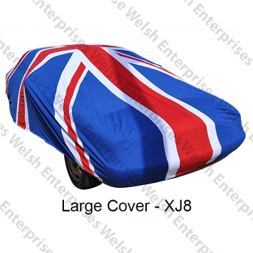 Jaguar Union Jack Indoor Car Cover - Large