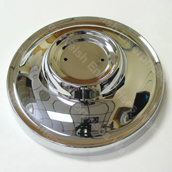 Jaguar Chrome Hubcap - Small