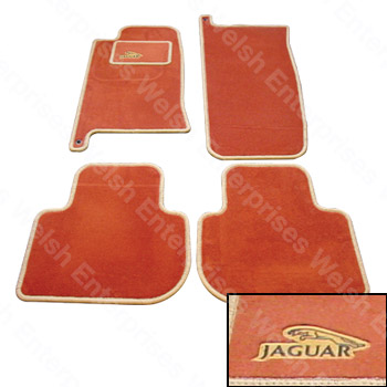 Jaguar Carpet Set 4Pc