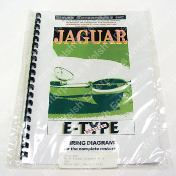 Jaguar Wiring Diagram - E-Type Series I 4.2