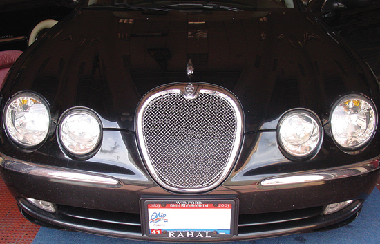 jaguar s type 1999 2004 mesh grille grill ebay. Black Bedroom Furniture Sets. Home Design Ideas