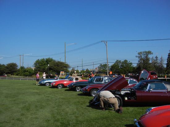 Jaguar Club of Illinois Concours
