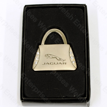 Jaguar Purse Keychain