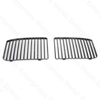 Grille Vane Pair - Black - XJ6 (88-94)