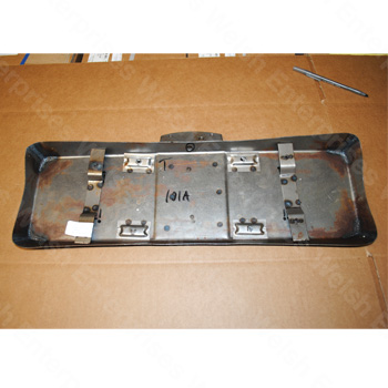 XK120 Rear License Plate Repair Panel