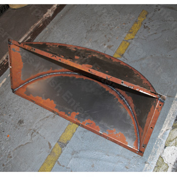 XK140 XK150 Spare Tire Tray Extension Panel