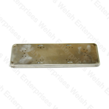 Rear License Plate Panel - XK140