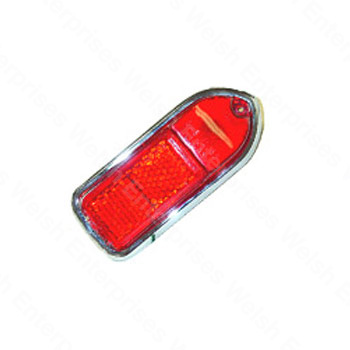 Rear Side Marker Assembly, Left-Hand Red