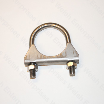 "Exhaust Clamp - 1 5/8"" - Stainless Steel"
