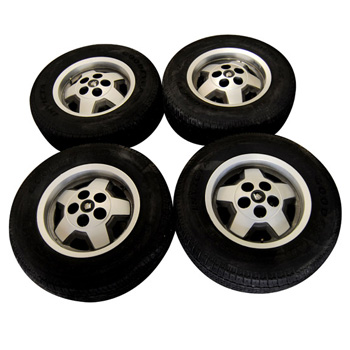 "15"" Jaguar Starfish Wheel Set of 4 - XJS"