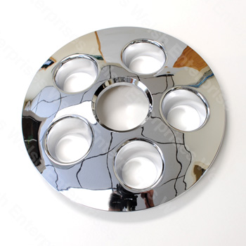 Chrome Hubcap w/ Holes