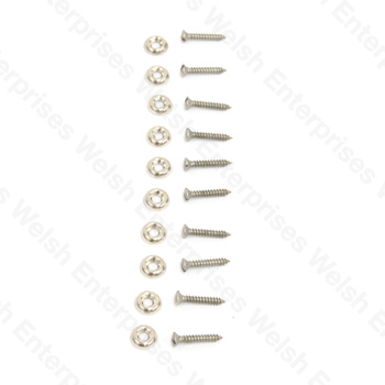 "Slotted Trim Screw - 3/4"" - 10 pack"