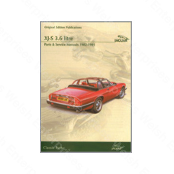 XJS 82-91 Parts and Service CD-ROM