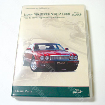 XJ6/XJ12 (95-97) Supplementary Information CD-ROM
