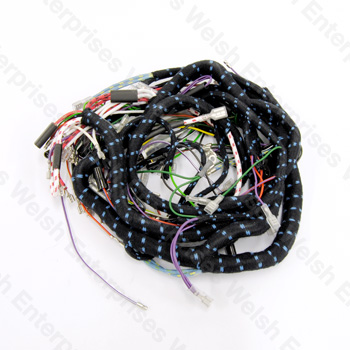 welsh enterprises, inc jaguar e type series i 1 2 electrical lexus wiring harness dashboard wiring harness 4 2 e type