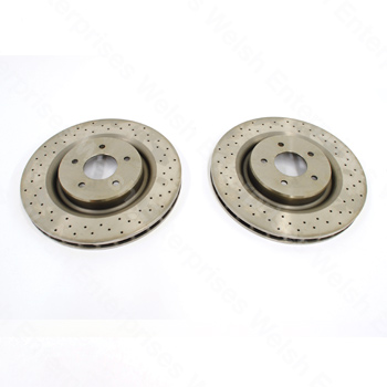 XKR XJR Front Rotor Pair (R model only)