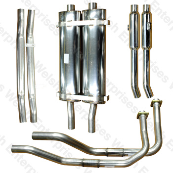 Bell Big Bore Exhaust Kit - E-Type Series I
