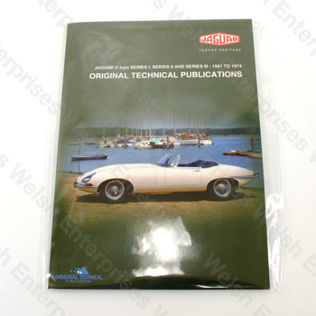 E-Type (all years) - DVD Manual