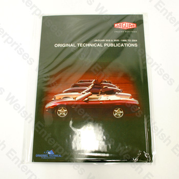 XK8 / XKR (1996-2011) - DVD Manual