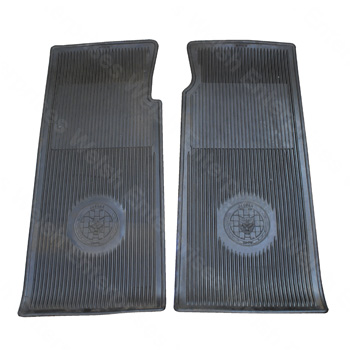 Rubber Floor Mats - E-Type V12 (71-74)