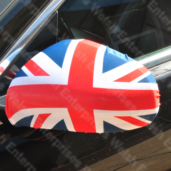 Union Jack Side View Mirror Cover