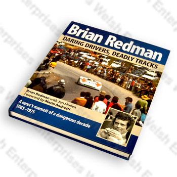 Daring Drivers, Deadly Tracks by Brian Redman <br> (Autographed Copy)