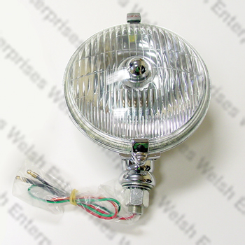 "5 3/4"" Driving Light - Fluted"