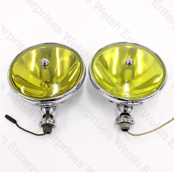 "7"" Fog Light Pair - Amber"