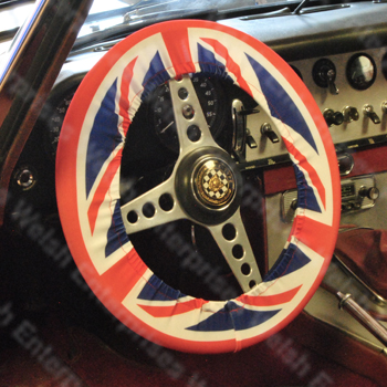 Union Jack Steering Wheel Cover